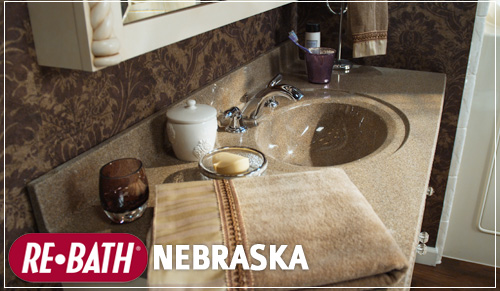 Bathroom Mirrors Kansas City bathroom vanitiy tops and bathroom mirrors - nebraska remodeling