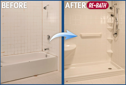 Before and After Bathroom Remodeling Photos - Nebraska Bathroom