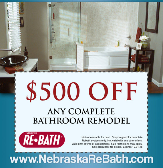 nebraska bathroom remodeling deals and offers nebraska