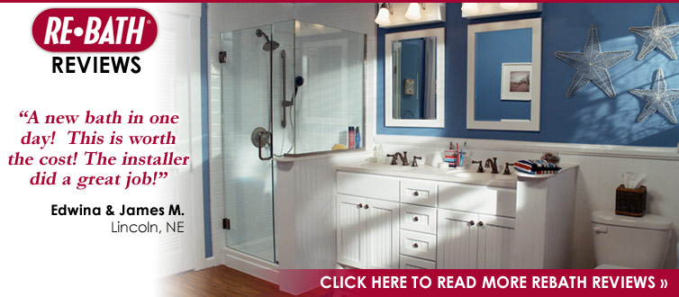 nebraska rebath - lincoln, nebraska bathroom and shower remodeling
